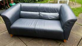 Sofa, 2-seater. Blue (marine) Made by GRASSOLER. Used but in very good condition. No scuffs or marks