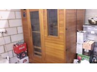 Sauna Cabin, infrared, 3 person cabin. Used once. Unclips for easy transport. £250.00