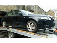 audi a4 b7 2007 wheel nut BREAKING FOR PARTS FULL FRONT END AND AIRBAG KIT