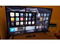LUXOR 50-Inch SMART FHD LED 1080p TV, Built-in Wifi,Freeview HD,Netflix,Pls Read Description