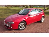 Alfa Romeo 147 Diesel**Full service history**Clutch & Timing belt replaced**54+mpg**