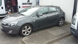 *SOLD*Vauxhall Astra SRi CDTi 2.0litre GREY Spares or Repair (Engine damaged)