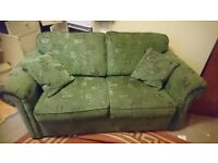 Free to good home - clean, fully functional metal action sofa bed,
