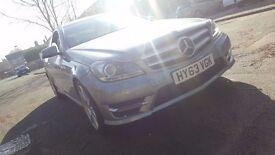 Mercedes-Benz C Class C220 cdi executive se 2dr SAT NAV PREP 2.1