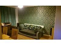 Sofa dark grey and light grey