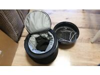 Portable barbecue with carry case and compartment for cold drinks, only £5!
