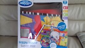 Playgro giant size play mat 150cm x 100 cm. Suit from o months upwards.