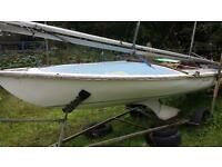 sailing dinghy flying 15 no 2682 windebank mk 4 many wins 1st worlds 1984 1st southern classic1996