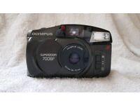 Olympus superzoom rangefinder 700bf 35mm film camera lomography flash case retro vintage pre digital