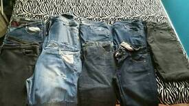 10 x ladies jeans