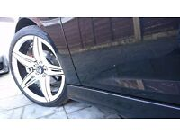 18 inch 5x108 alloy wheels . Ford focus,mondeo,c max, volvo, jaguar, £360