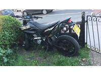 Yamaha wr x 125
