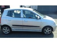 LOW TAX AND LOW MILEAGE KIA PICANTO 2005 5DR FULL YEAR MOT, MOT TILL 09/08/2019,(NO ADVERSORY