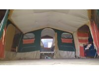 Raclet Antalia Trailer Tent - braked chassis, full awning, ready to go camping!