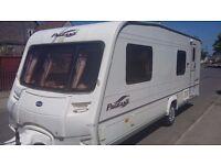 bailey pageant bretagne lightweight 6 berth caravan 2004