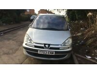 2003 Peugeot 807 Glx Hdi Mpv 2.0L Diesel Silver BREAKING FOR SPARES