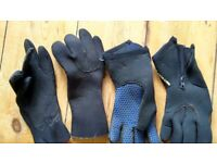 Diving gloves (one pair left)