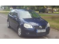 VW POLO 1.4 S AUTOMATIC 55PLATE 2005 LADY OWNED 112000 MILES FULL SERVICE HISTORY AIRCON ALLOY 5DOOR