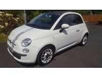 2010 Fiat 500 1.2 Sport – Lovely Example Great Spec, Only 46k miles, MOT March 2018