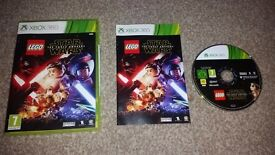 Xbox 360 games Lego Star Wars the force awakens