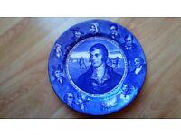 Plate.Royal Doulton Burns plate..D3392