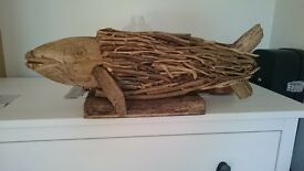 driftwood figure of the fish