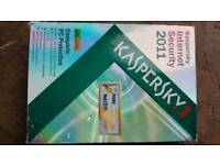 Kaspersky in used condition boxed Can deliver or post