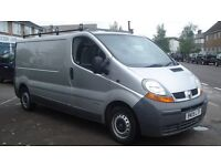 2005 05 Renault Traffic dci 100 No VAT 2 Owners In Silver Air Con Elec Windows Centrall Locking
