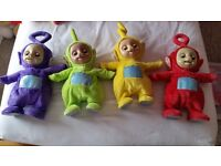 4 all singing all dancing teletubbies
