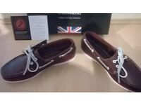 Chatham Docksider II G2 Gents Red Boat Shoes RRP £89.00 - Sizes 7, 8 and 10 New