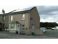 3 bed semi detached house in country location