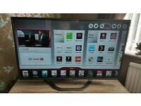 LG 47 inch smart 3D tv.