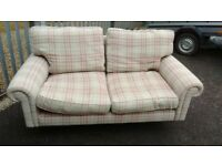 Laura Ashley large two seater sofa