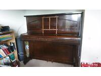 Piano - upright Alderson & Brentnall, overstrung