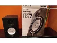 Yamaha HS7 Studio Monitors (pair)