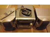 ~~## AIWA NSX-K386 Stereo Systems with 3 CD/VCD Disc Changers, Deck Cassete Auto-Reverse ##~~
