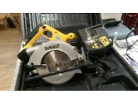 CIRCULAR SAW - 165 mm, CHARGER & CASE included
