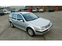 02 VW GOLF 1.9TDI 130 AUTOMATIC ESTATE FSH 1OWNER