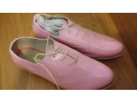 Brand new Boden hot pink shoes