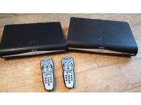 Sky Hd+ boxes x 2 in good condition £8 for 2 boxes