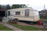 Tabbert 2004 plus towable shower and wet room and utility room.