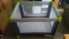 BabyStart travel cot in good condition.