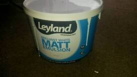 Leyland 10l Tub White Emulsion