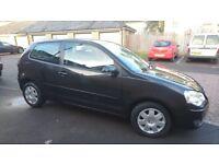 VW Polo 1.4 2006 Black Automatic Low mileage 53k