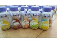 Nutricia fortisip 39 bottles mixed