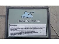 Window Cleaning van booster pump