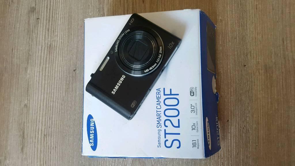 Samsung ST200F smart camera 16.1 megapixels