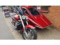 Triumph rocket sidecar