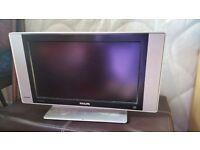 22inch flat screen hd ready phillips tv