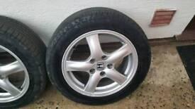 Honda Accord 16inch Alloys Wheels.